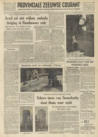 Provinciale Zeeuwse Courant 1957-02-22