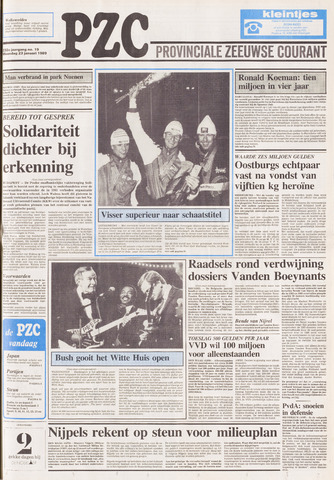 Provinciale Zeeuwse Courant 1989-01-23