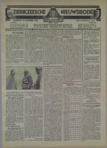 Zierikzeesche Nieuwsbode 1942-10-31
