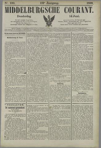 Middelburgsche Courant 1888-06-14