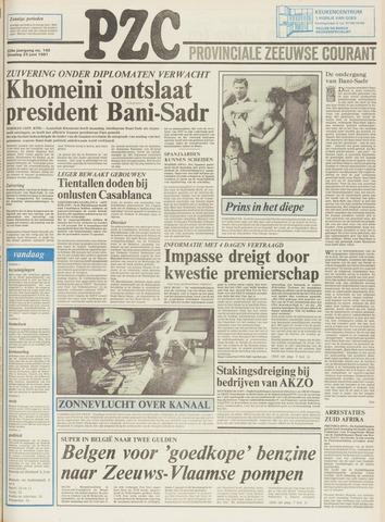Provinciale Zeeuwse Courant 1981-06-23