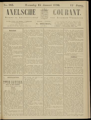 Axelsche Courant 1896-01-15