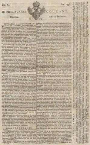 Middelburgsche Courant 1758-12-19
