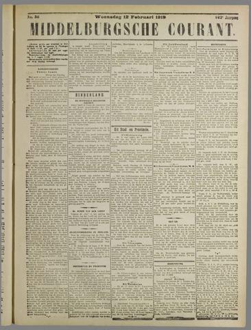 Middelburgsche Courant 1919-02-12