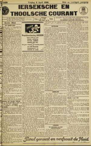 Ierseksche en Thoolsche Courant 1926-04-02