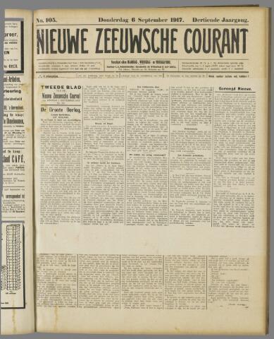 Nieuwe Zeeuwsche Courant 1917-09-06