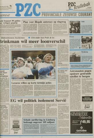 Provinciale Zeeuwse Courant 1992-05-12