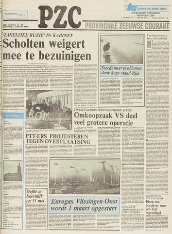 Provinciale Zeeuwse Courant 1980-02-07