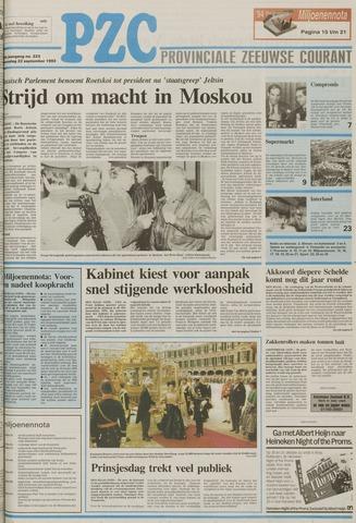 Provinciale Zeeuwse Courant 1993-09-22