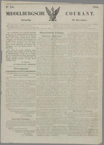 Middelburgsche Courant 1854-12-30