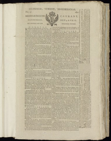 Middelburgsche Courant 1801-04-09