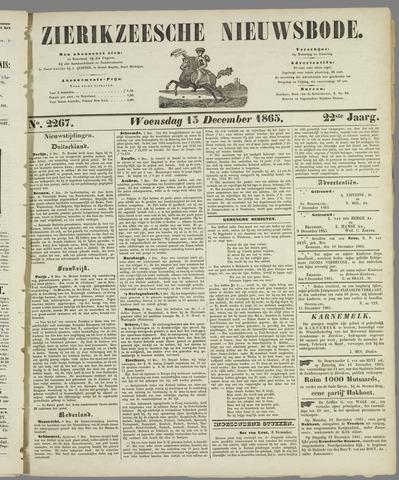 Zierikzeesche Nieuwsbode 1865-12-13