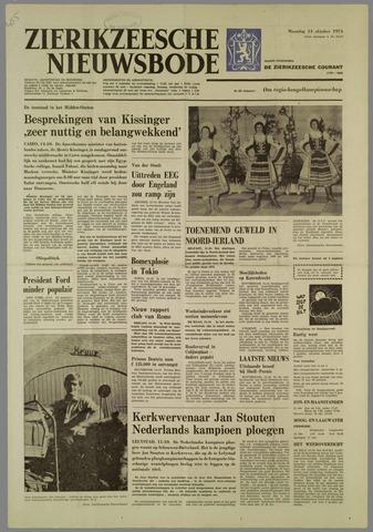 Zierikzeesche Nieuwsbode 1974-10-14