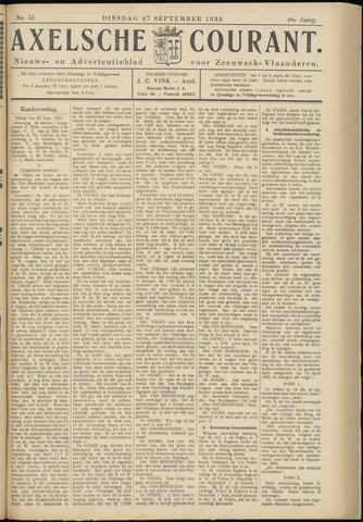 Axelsche Courant 1932-09-27