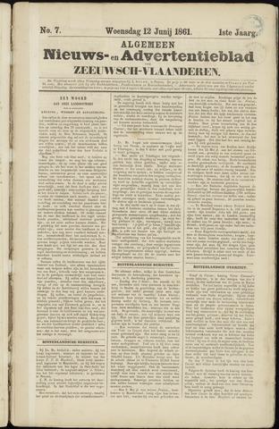 Ter Neuzensche Courant. Algemeen Nieuws- en Advertentieblad voor Zeeuwsch-Vlaanderen / Neuzensche Courant ... (idem) / (Algemeen) nieuws en advertentieblad voor Zeeuwsch-Vlaanderen 1861-06-12