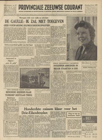 Provinciale Zeeuwse Courant 1960-01-30