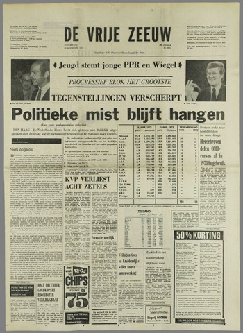 de Vrije Zeeuw 1972-11-30