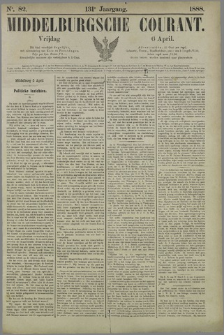 Middelburgsche Courant 1888-04-06