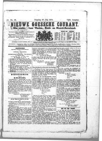 Nieuwe Goessche Courant 1870-07-26