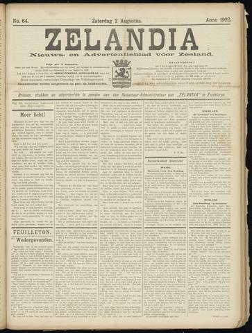 Zelandia. Nieuws-en advertentieblad voor Zeeland | edities: Het Land van Hulst en De Vier Ambachten 1902-08-02