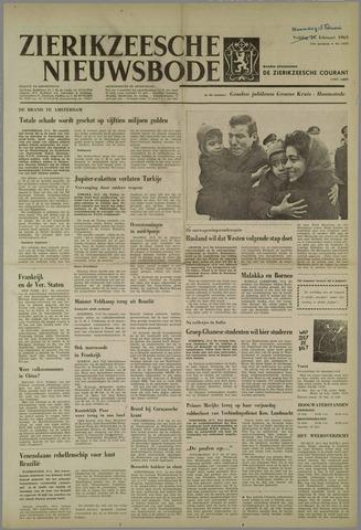 Zierikzeesche Nieuwsbode 1963-02-18