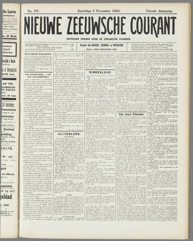 Nieuwe Zeeuwsche Courant 1906-11-03