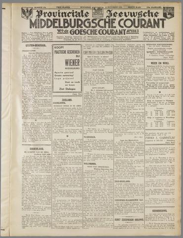 Middelburgsche Courant 1933-11-22
