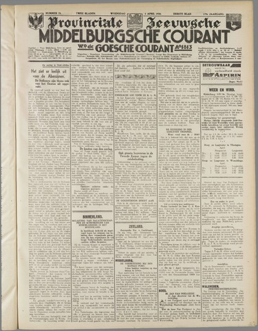 Middelburgsche Courant 1936-04-01