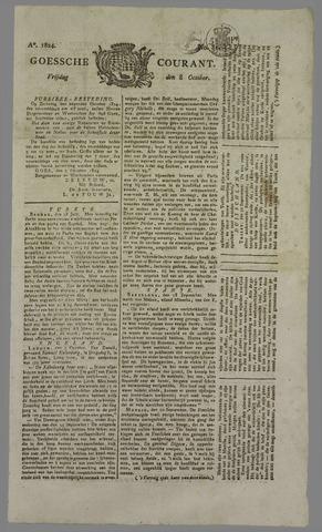 Goessche Courant 1824-10-08