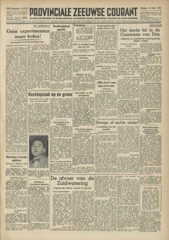 Provinciale Zeeuwse Courant 1947-09-12