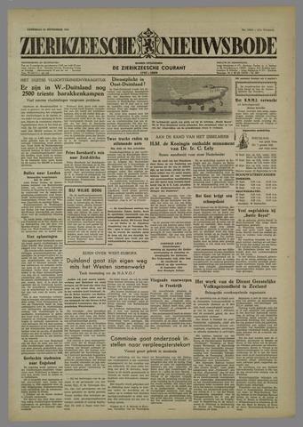 Zierikzeesche Nieuwsbode 1954-09-25