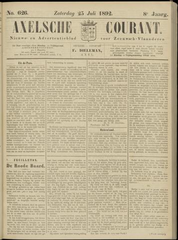 Axelsche Courant 1892-07-23