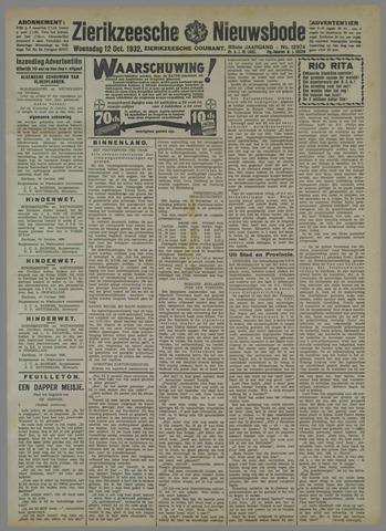 Zierikzeesche Nieuwsbode 1932-10-12