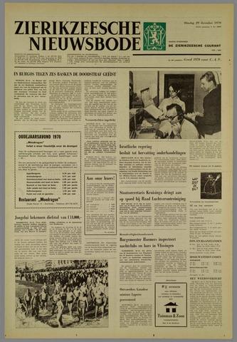 Zierikzeesche Nieuwsbode 1970-12-29