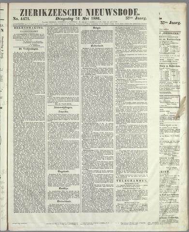 Zierikzeesche Nieuwsbode 1881-05-31