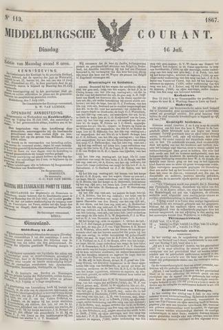 Middelburgsche Courant 1867-07-16