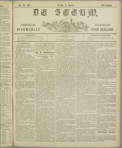 De Zeeuw. Christelijk-historisch nieuwsblad voor Zeeland 1897-08-21