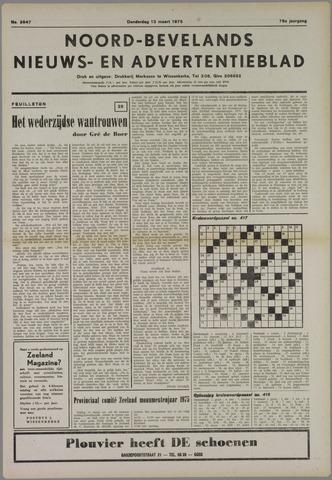 Noord-Bevelands Nieuws- en advertentieblad 1975-03-13