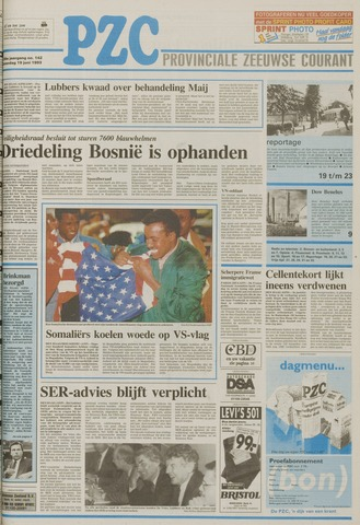 Provinciale Zeeuwse Courant 1993-06-19