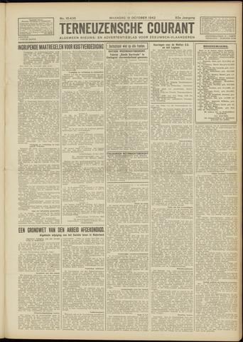 Ter Neuzensche Courant. Algemeen Nieuws- en Advertentieblad voor Zeeuwsch-Vlaanderen / Neuzensche Courant ... (idem) / (Algemeen) nieuws en advertentieblad voor Zeeuwsch-Vlaanderen 1942-10-19