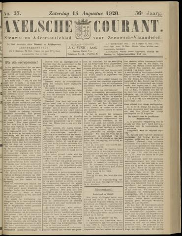 Axelsche Courant 1920-08-14