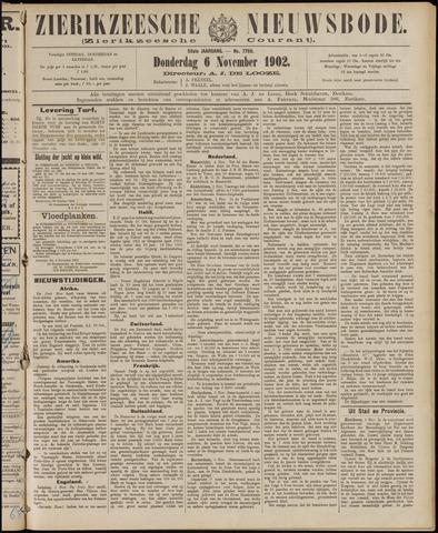 Zierikzeesche Nieuwsbode 1902-11-06