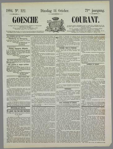 Goessche Courant 1884-10-14