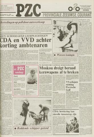 Provinciale Zeeuwse Courant 1983-10-12