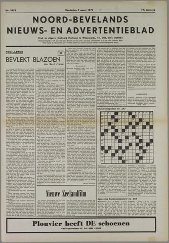 Noord-Bevelands Nieuws- en advertentieblad 1972-03-02