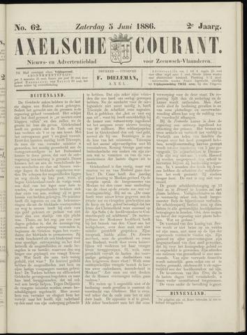 Axelsche Courant 1886-06-05
