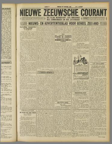Nieuwe Zeeuwsche Courant 1930-02-25