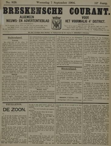 Breskensche Courant 1904-09-07