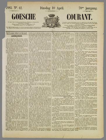 Goessche Courant 1883-04-10