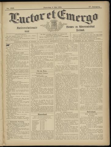 Luctor et Emergo. Antirevolutionair nieuws- en advertentieblad voor Zeeland / Zeeuwsch-Vlaanderen. Orgaan ter verspreiding van de christelijke beginselen in Zeeuwsch-Vlaanderen 1916-05-06